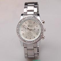 Luxury Fashion Geneva Brand Casual Watch Men Women Dress Quartz Wristwatches Rel - $8.96+