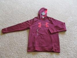 BNWT UA Storm Armour® OR MTN Fleece Big Logo Hoodie, Men, Loose, Size L, $55-$60 - $44.55+