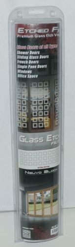 Illusions Inc GE4009 Etched FX Premium Glass Etch Neuvo Blocks