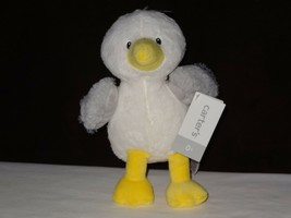 "NWT Carters Plush Toy Stuffed Animal Lovey White Gray Seagull Bird Ocean 9.5""-7"" - $21.88"