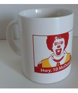 McDonald's Ceramic Mug - Hwy 10 McDonald's Rebuild 2007 - £7.66 GBP