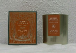 Crabtree & Evelyn Frosted Spicewood Fragrance Scented Candle Jar 7.1 oz.  - $24.74