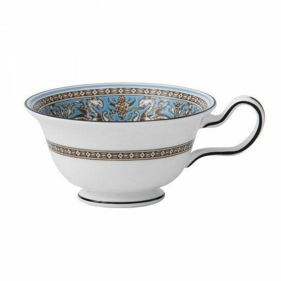 Wedgwood Peony Shape FLORENTINE TEA CUP NEW - $49.49