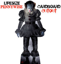 Pennywise Clown Lifesize Cardboard Cutout - Standup standee  from IT Movie  - £21.40 GBP