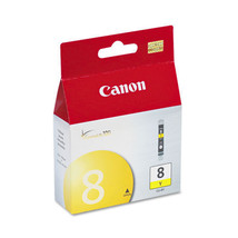 Genuine OEM Canon CLI-8 yellow ink cartridge new in sealed retail package - $19.40