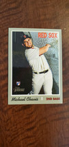 2019 Topps Heritage High Number Chrome Rookie Card Michael Chavis Red Sox # 501 - $7.99