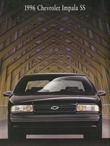 1996 Chevrolet IMPALA SS sales brochure catalog US 96 LT1 Chevy - $15.00