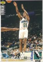 1994-1995 Upper Deck Collectors Choice Card David Wingate #255 Charlotte... - $1.97