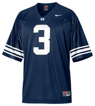 NIKE BYU COUGARS BRIGHAM YOUNG JERSEY YOUTH L LARGE 16/18 #3 BOYS KIDS B... - €23,42 EUR