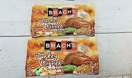 Brachs TURKEY DINNER Candy Corn 12oz Lot of 2 RARE! Limited Edition (Ships Fast) - $20.15+