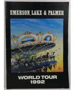 Emerson, Lake and Palmer World Tour 1992 - $6.99