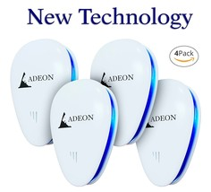 Ultrasonic Pest Repeller [4pack]  Electronic Pest Control Repellent Plug... - $32.60