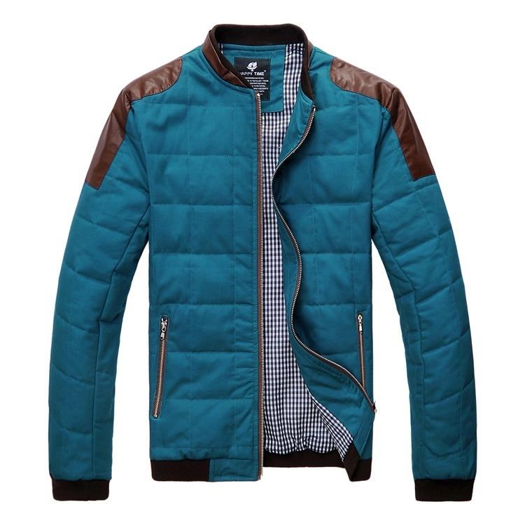 Men's thick warm coat image 5