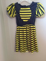 Rubies Size M Girl's Bumble Bee Dress Only Halloween Costume - $3.43