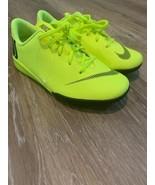 Nike Jr Mercurial Superfly 6 Academy Indoor Cleats Size 13.5c Yellow (AH... - $39.00