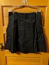 Gap Pleated Skirt 10 Black Modest Womens - $14.99