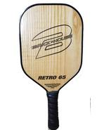 Brick*House RETRO 65 Natural Ash - hybrid composite pickleball paddle - $95.00