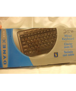 Dynex Wired Keyboard DX-WKBDSL PARTS & PIECES - $5.59