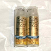 2pk Olay Micropolishing Cleansing Infusion Facial Cleanser Crushed Ginge... - $44.54