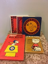Assorted Set of Six Charles M. Schulz PEANUTS CHARACTER Books Charlie Br... - $20.00