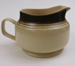 Wallace Heritage Stoneware Painted Desert Collection Creamer Beige Brown... - $19.80