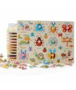 Toys Wooden Puzzle Educational Cartoon Animal Children Intelligence Kids... - $14.96