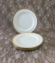 4 Minton China Luncheon Plates with Gold Encrusted Rims for Davis Collam... - $100.00