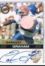 2003 Press Pass Autographs Gold #18 Earnest Graham Auto /100  - $14.50