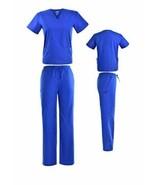 DSF Medical Uniform Women Men Scrub Set Top and Cargo Pants 1836 - $16.82+