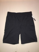 Izod Mens Shorts Size 44 Sportsflex Waistband Steel Jogger Fit Stretch N... - $43.54