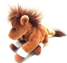 "Hand Puppet Derby Horse Plush Full body Stuffed Animal Pony Toy 13"" Russ... - $18.68"