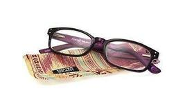 Foster Grant Green View Bernadette Purple Women's Reading Glasses with C... - $24.99