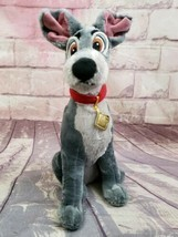 "Disney Store Tramp 16"" Dog Plush Lady and the Tramp - $18.99"