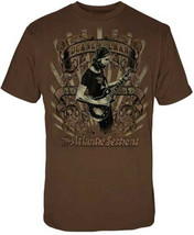 Duane Allman-The Atlantic Sessions-X-Large Brown  T-shirt - $16.44
