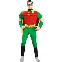 """Batman and Robin Deluxe Muscle Chest """"Robin"""" Adult Halloween Costume  - $60.56"""
