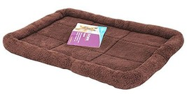 Comfortable Pet Bed Pet Mats Cat/ Dog House Bed 46 x 34CM -Coffee - $18.95