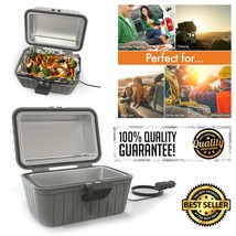 Heated Electric Lunch Box 12V Portable Stove Non-stick Car Truck Camping... - €31,33 EUR