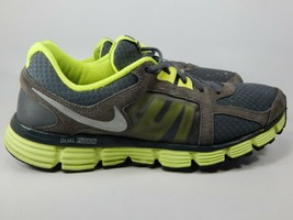 Nike Dual Fusion ST 2 Size 9.5 M (D) EU 43 Men's Running Shoes Grey 454242-003
