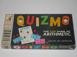 Milton Bradley 1972 Quizmo Arithmetic Board Game #9309 COMPLETE - $9.49