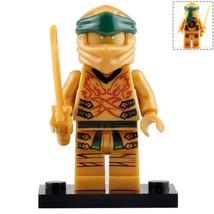 Lloyd Garmadon the Gold Ninja with Sword Ninjago Minifigures Block Toy - $2.99