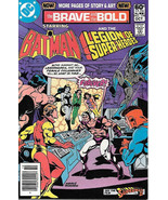 Brave and the Bold Comic Book #179 DC Batman and Legion of S. H. 1981 VE... - $4.50