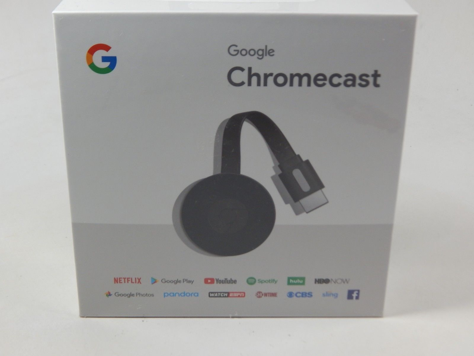 Google Chromecast 2nd Generation HD Media Streamer - Black