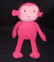 "12"" TARGET ANIMAL ADVENTURE 2012 PINK BABY MONKEY APE STUFFED ANIMAL PLU... - $23.38"