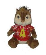 Build a Bear Workshop Plush Alvin Chipmunk Chipwrecked Hawaiian Shirt  L... - $18.69