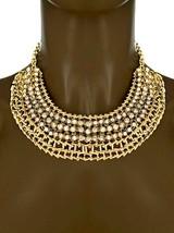 Décontracté Quotidien Fantaisie Gros Collier Earrings Set Transparent Strass - $13.92