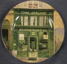 Sakura Storefronts Chez Jerome Salad Snack Plate French Restaurant Chiu ... - $10.75