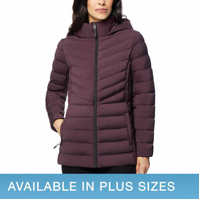 Primary image for NEW 32 Degrees Ladies' Hooded Stretch Jacket SELECT COLOR & SIZE FREE SHIPPING