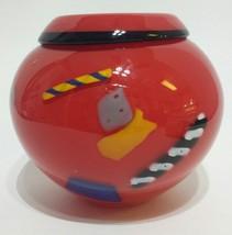 Hoglund Folded Red Lip Vase multi colored - $31.73