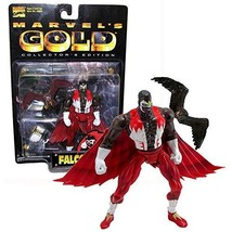 Marvel Comic Year 1999 Marvel's Gold Series 5-1/2 Inch Tall Figure - Fal... - $34.99
