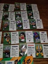 NFL FOOTBALL TEENYMATES SERIES 7 COMPLETE SET OF 32 PLAYER PROFILE CARDS!!! 2018 image 3